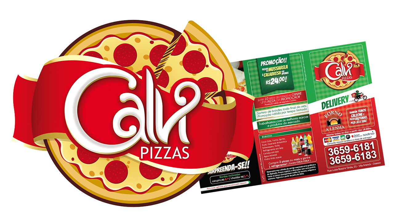 Kit Pizzaria - Calvi Pizzas