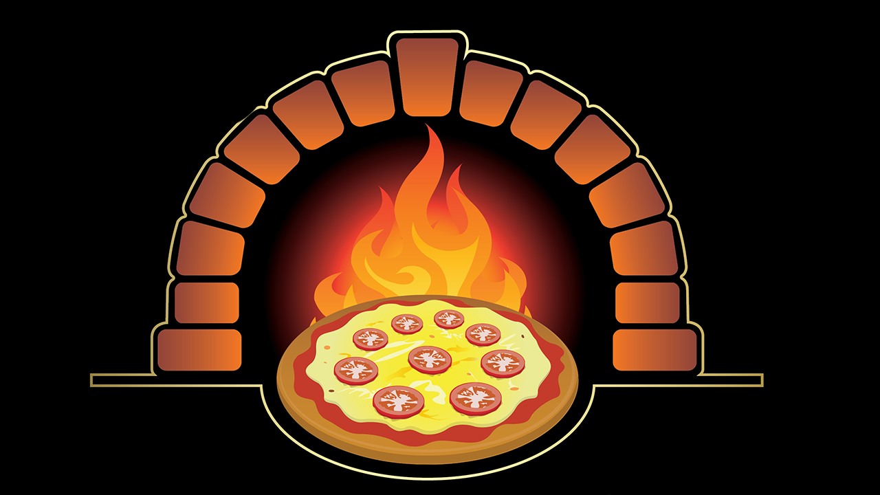 Logo - Golden Pizzas
